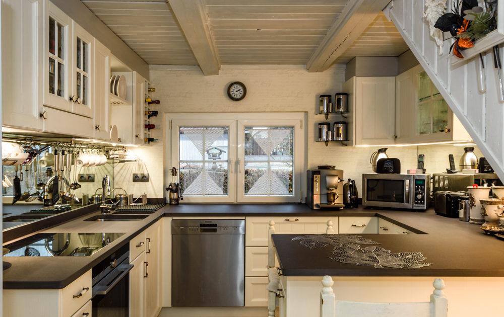Küche Fichte massiv Landhausstil