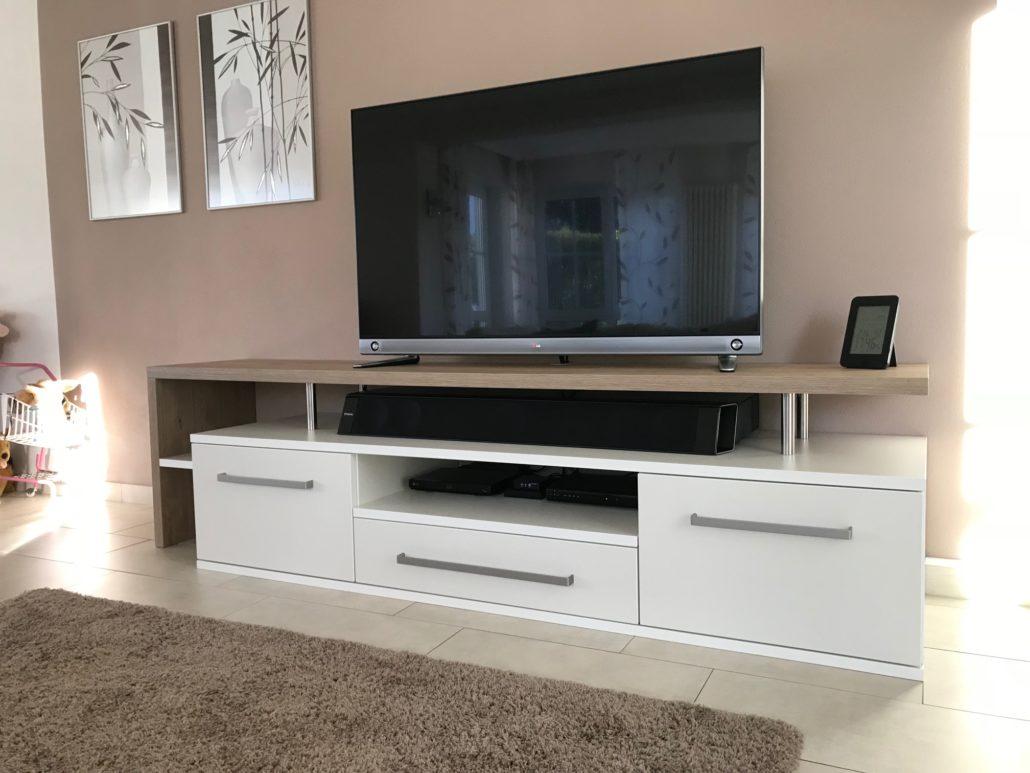 TV Möbel Dekor Eiche