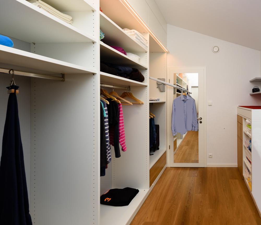 Begehbare Kleiderschranke 533 Schreinerei Weber